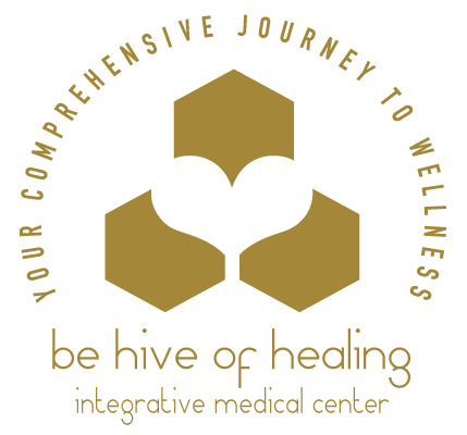 Be Hive of Healing Logo