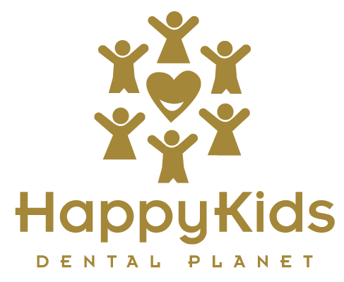 Happy Kids Dental Planet Logo
